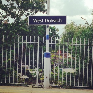12 - TRAIN TO WEST DULWICH