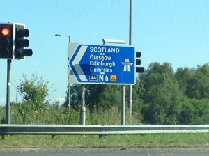141 - ON THE WAY TO SCOTLAND