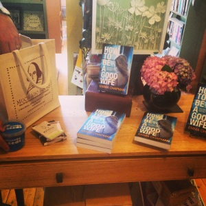 32 - DISPLAY AT MUCH ADO BOOKS, ALFRISTON
