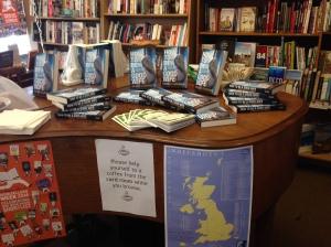 41 - DISPLAY IN FORDINGBRIDGE BOOKSHOP, HAMPSHIRE