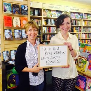 63 - SIGN AT NICKLEBY'S BOOKSHOP, LLANTWIT MAJOR